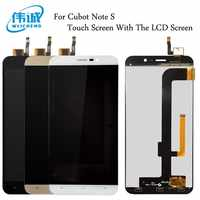 WEICHENG Top Quality for Cubot Note S LCD Display+Touch Screen Digitizer Assembly Replacement Accessories +Free Tools