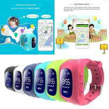 Q50 GPS Children Kids Smart Watch SOS Tracker Anti Lost Positioning Intelligent Waterproof Phone Watch Dual Ruassian English(China)
