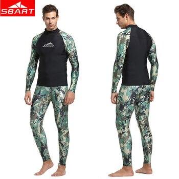 a1ba0848ba33e Product Offer. SBART Камуфляжный мужской Рашгард рубашка брюки с длинным  рукавом ...