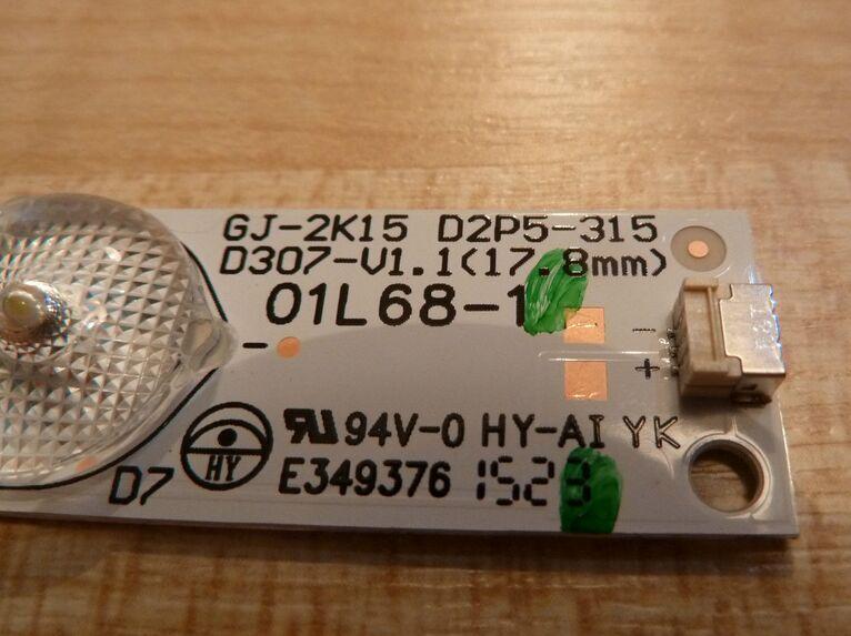10pcs New original LED stripsLED back light strip GJ 2K15 D2P5 315 D307 V1 1 FOR
