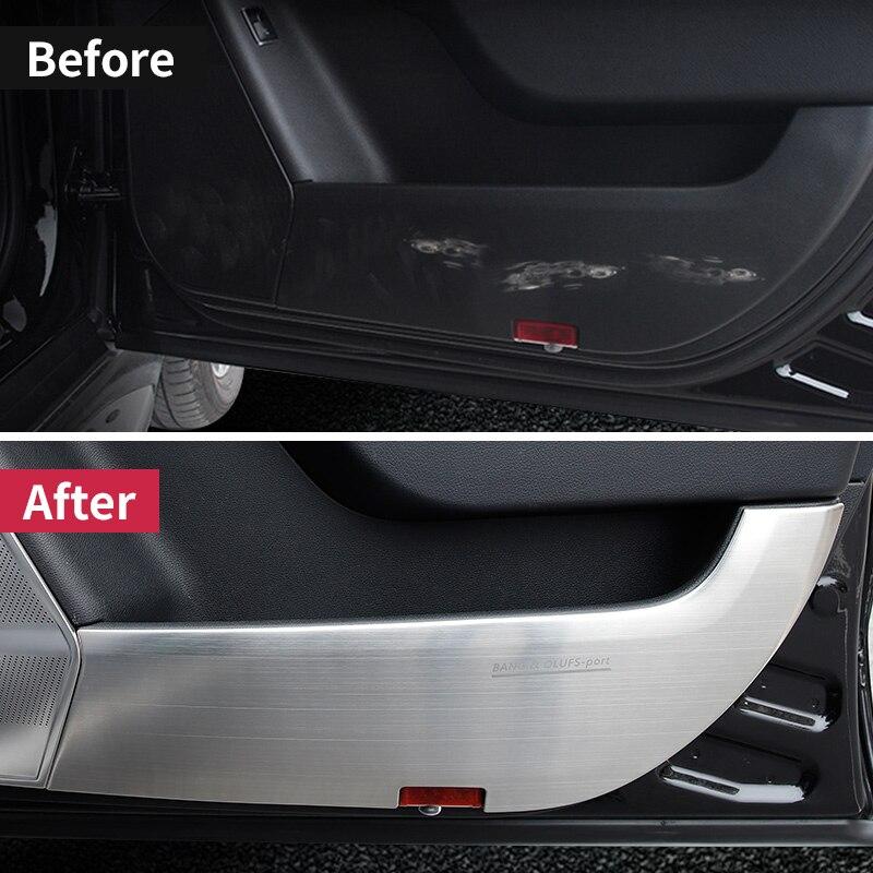 Pour Mercedes Benz ML320 350 2012 W166 350d GL450 x166 GLS porte de protection marque à gratter accessoires d'autocollant de revêtement d'habillage sale