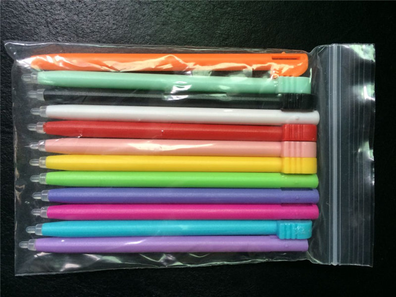 Hot Sale 12Pcs/lot Muticolor Handheld Video Game Plastic Touch Stylus Pen Sensitive For DS Lite For NDSL