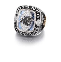 2015 Carolina Panthers Nacionales Anillos de Campeonato de Fútbol