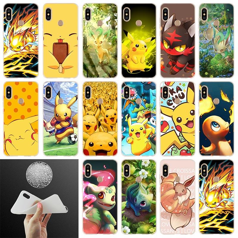 phone-case-font-b-pokemons-b-font-pika-pattern-for-xiaomi-redmi-note-7-6-5-4x-redmi-7-6pro-6a-s2-5a-4a-4x-5plus-y3-soft-cover-coque