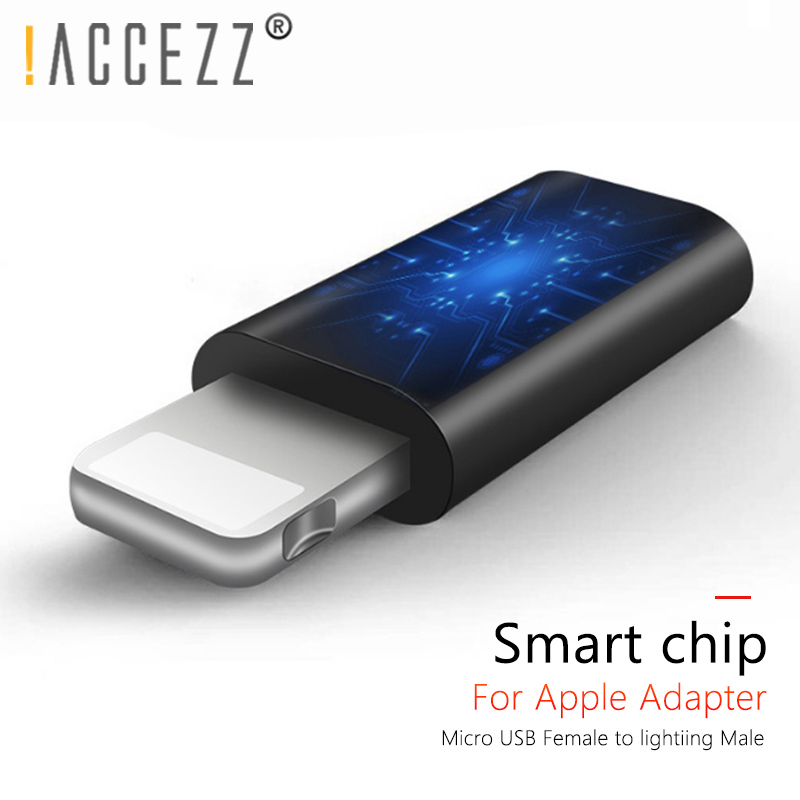 !ACCEZZ OTG Converter Micro USB To Lighting For Apple Adapters For Iphone 6 7 X 8 6s Plus For Ipad Air Mini Charger Data Adapter