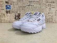 7eeca187b829 Fila Disruptor II 2 Men Women Running Shoes Classics Sawtooth White  Increased