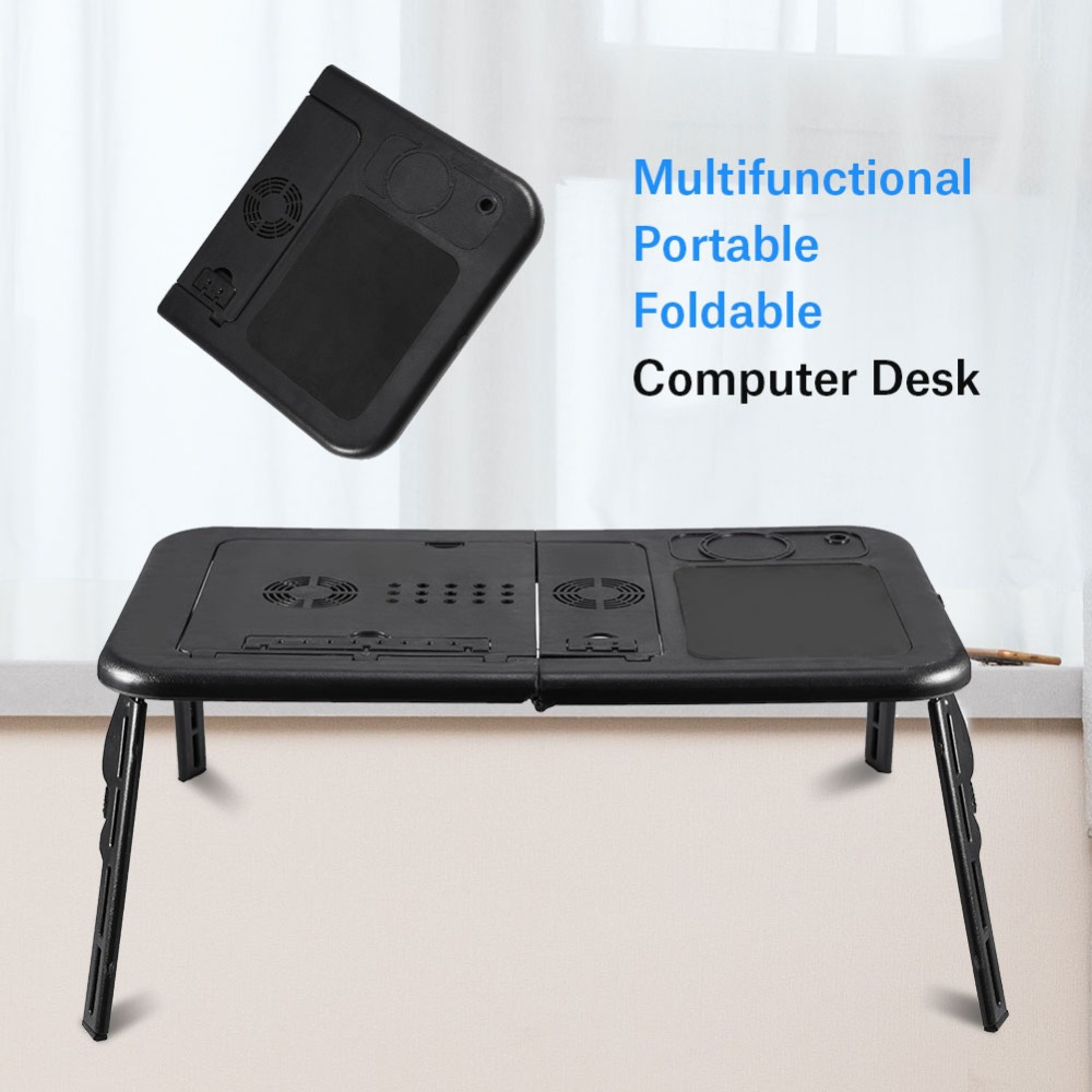 foldable office table. Adjustable Portable Mobile Laptop Table Standing Desk For Bed Sofa Folding Tab Office Study Table-in Desks From Furniture On Foldable