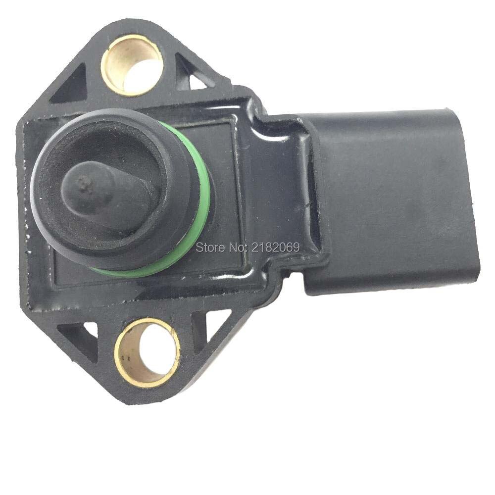 Manifold absolute pressure map sensor for audi a2 a3 a4 a6 tt 1 2 1 4 1 8 t 1 9 2 5 tdi 99vw9e928aa 062906051 0281002177