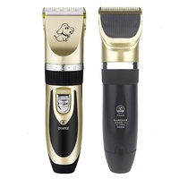 Rechargeable Pet Dog Hair Trimmer Professional Cat Dog Hair Clipper Remover Machine EU Plug Electric Clipper Grooming