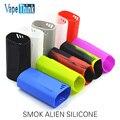 Smok cigarrillo elektronik TFV8 Alien 220 W colorido de silicona caso de la piel/cubierta de silicona/funda de silicona para Smok extranjero 220 w Caja de mox