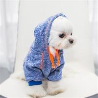 مستلزمات الحيوانات الأزياء والملابس هوديس ل تيدي جرو الصغيرة والمتوسطة كبير حجم الكلب