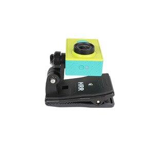 Image 5 - Rotary Clamp Mount Backpack Rec mounts Clip for Xiaomi Yi 4K Xiaoyi Lite MI Mijia 4K Mini GoPro SJCAM Sport Camera Accressories