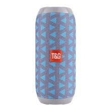 TG117 אלחוטי Bluetooth נייד רמקול סטריאו סאב רמקול עמודת + TF מובנה מיקרופון בס FM MP3 קול טייפ