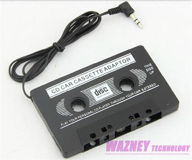 400pcs lot jack car audio cassette tape adapter for iphone samsung galaxy s3 s4 nano mp3. Black Bedroom Furniture Sets. Home Design Ideas