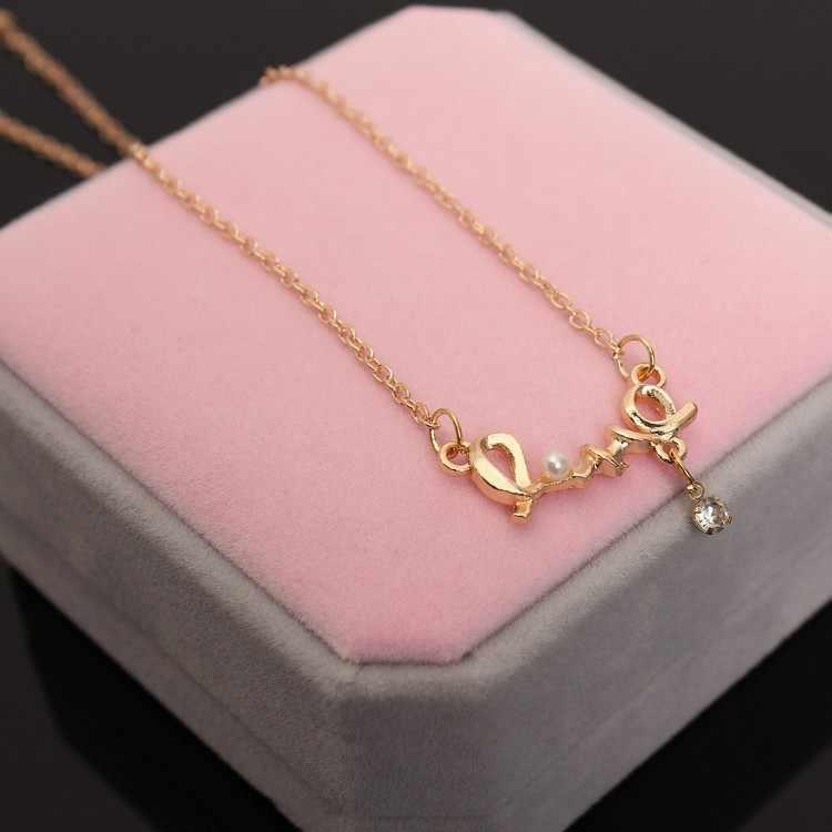 Colares feminino 2016 thời trang cổ điển jewellery tim của tình yêu chic cặp đôi ngọt ngào vòng cổ trang sức choker tim bijoux femme
