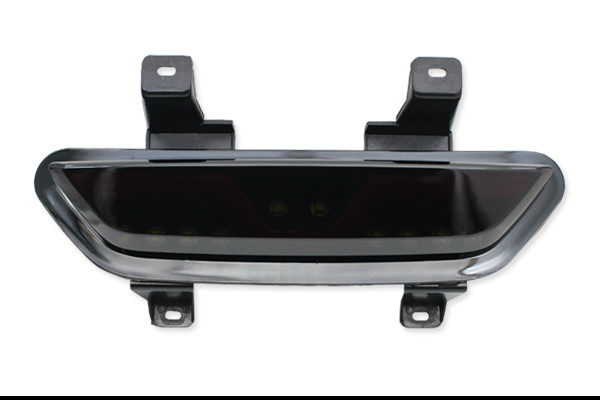 New Smoked Lens 3 IN 1 LED Rear Fog Light LED Rear Fog Tail Brake Reverse