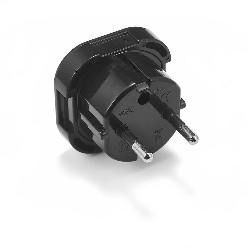 500pcs UK To EU European German Plug Adapter European Euro EU Germany AC Travel Power Adapter Outlet Electrical Plug Socket