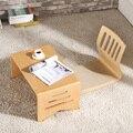 Современный деревянный складной стол ноги Складной Прямоугольник 80*42 см Мебель для гостиной деревянный стол центра Малый Кофе таблица стор...
