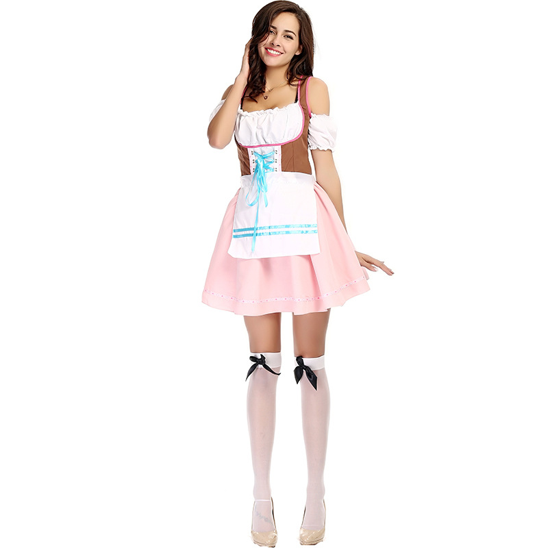 9772ca43a80 US $18.52 20% OFF Adult Beer Garden Babe Womens Oktoberfest German Parties  Costume-in Holidays Costumes from Novelty & Special Use on Aliexpress.com    ...