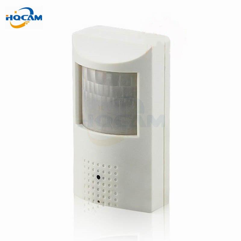 Hqcam ночь Аудио 720 P детектор движения PIR Камера тайное ПИР IP Камера ИК CCTV Камера ИК Ночное видение Камера 48 шт. 940 nmled