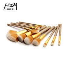 13Pcs/pack Makeup Brushes Set Power Foundation Eye Shadow Blush Blending Brush Cosmetic Beauty tool YA319 new 13pcs set powder foundation makeup brushes set pro eye shadow eye brow brushing brushes angled brush cosmetic makeup tools