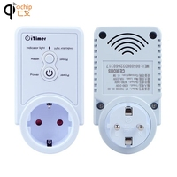 Smart Socket EU Socket Wireless Remote Control Power Light Switch Plug Smart Remote Switcher Outlet Socket