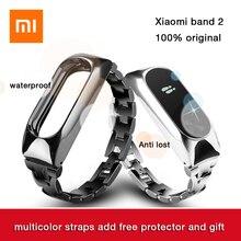 Xiaomi Band 2 Original Smart Watch Wristband Bluetooth 4.0 Xiaomi mi band 2 1S OLED Touch Screen Heart Rate Fitness Tracker