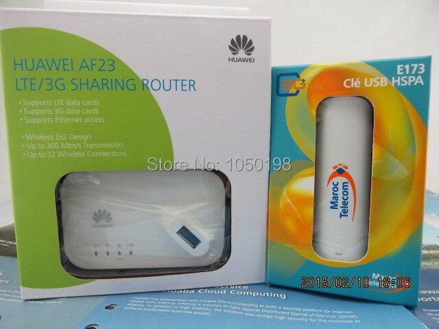 Huawei E173 WCDMA 3G USB modem+Huawei AF23 LTE Sharing Dock
