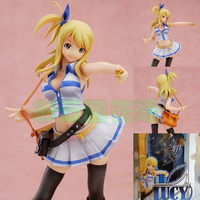 21 CM Fairy Tail Lucy Heartphilia PVC Action Figure coleção Toy modelo w938