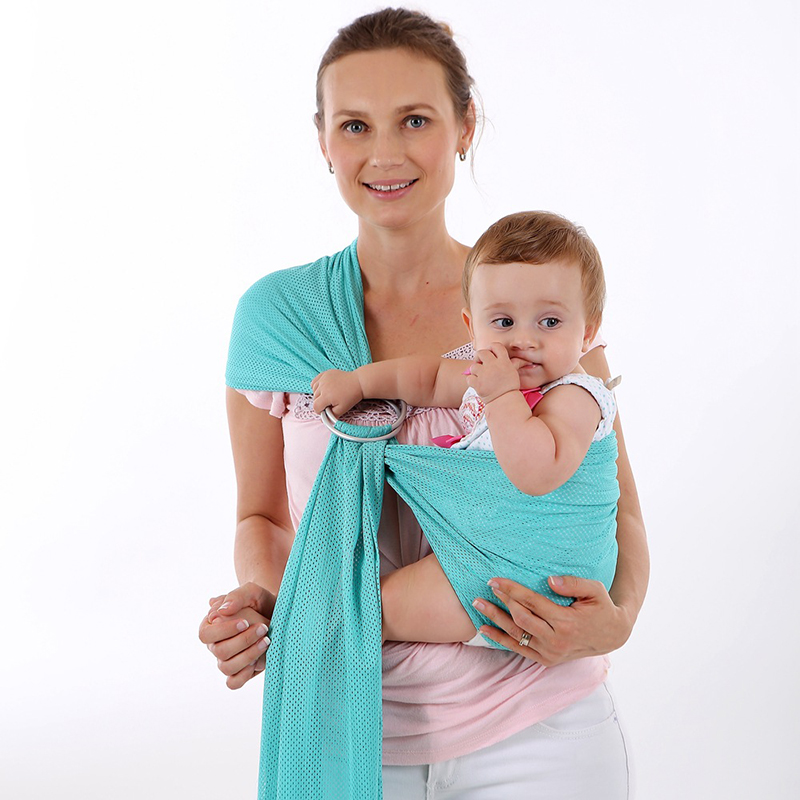 Baby Carrier Sling For Newborns Soft Infant Wrap Quick Dry Pool Shower Breathable Breastfeed Birth Comfortable Nursing Cover
