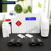 Homsecur Беспроводной GSM SMS автодозвон дома сигнализации Системы App контролируемых + Touch Панель Корабль из ru склад