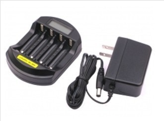Hot !!! LCD LiFePO4 14500 /10440 NiMH AA/AAA Battery Charger,travel charger ,free shipping