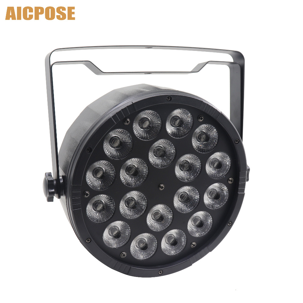 18x12W RGBW 4in1 Led Par Light 18*12w With DMX512 Disco Lights Professional Stage DJ Equipment Wedding Disco Stage Lighting