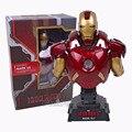 Homem de ferro 3 MARK VII 1/4 Escala Limited Edition Collectible Bust Modelo Figura Toy com Luz LED 23 cm