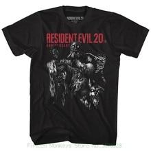 Camiseta de manga corta impresión divertida Resident Evil Monsters Negro  hombres adulto Camiseta de manga corta 119357c91c7
