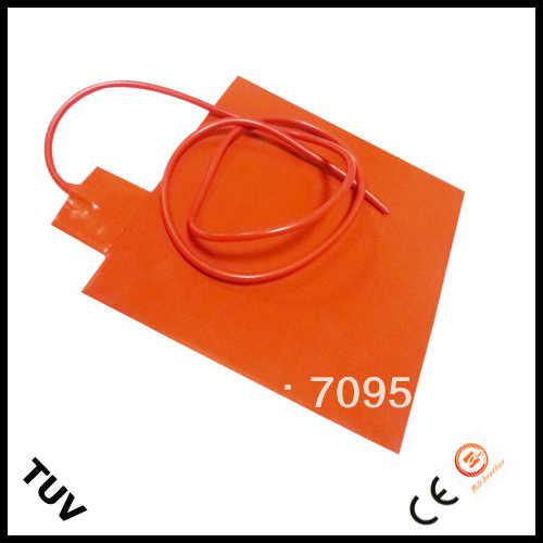 200x200 мм 12 В 200 Вт Мощный силиконовый гибкий нагреватель