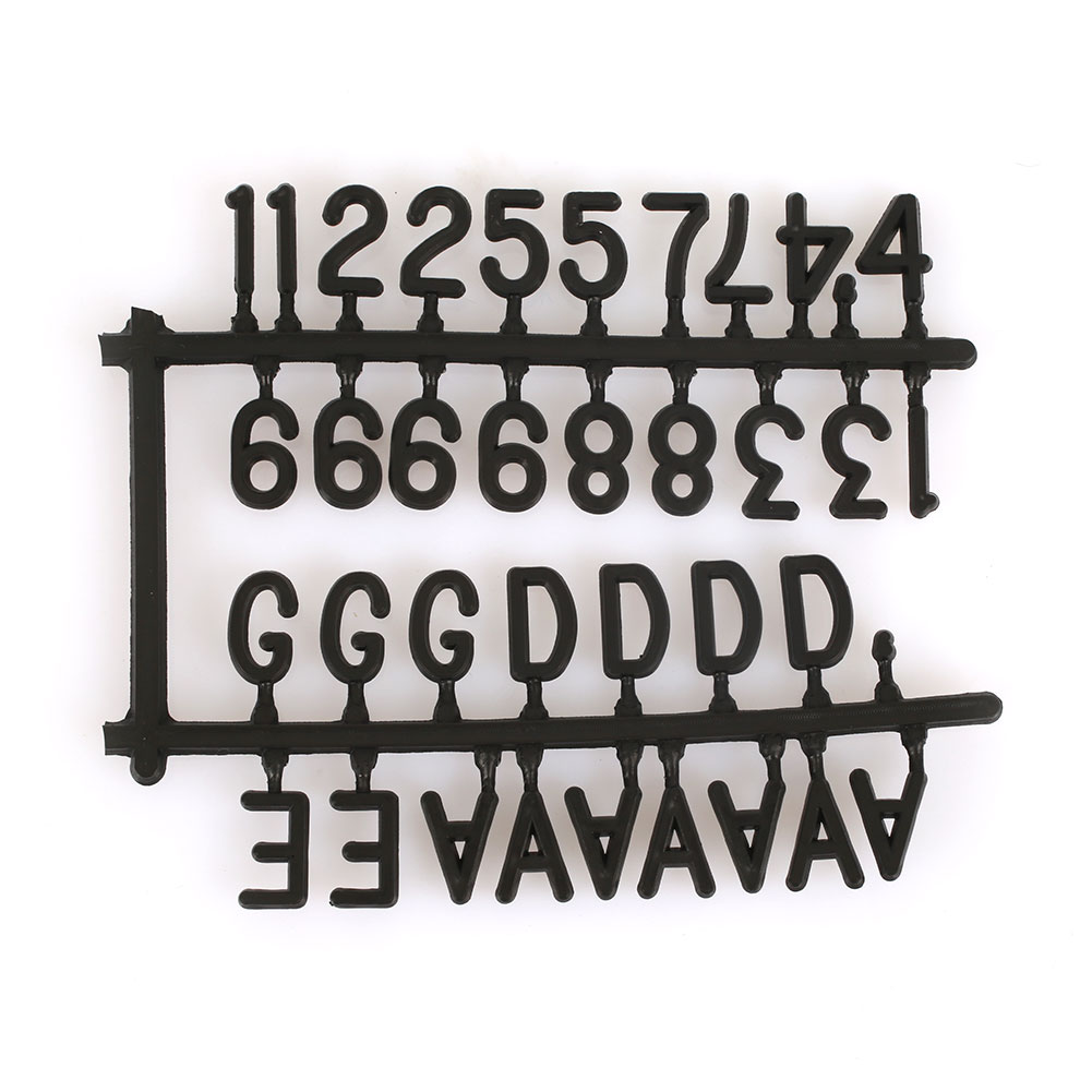 Bulletin Board Message Board Creative 25*25cm Black White Office Decor Desktop Sign Message 143 Letters Numbers Drop shipping