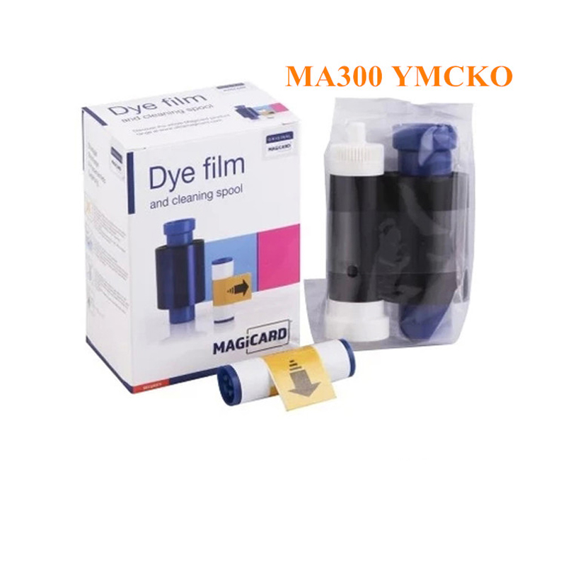 Magicard MA300 YMCKO 300 Prints/roll Color ribbon for ENDURO RIO PRO PRONTO card printer ribbons uk magicard rio pro duo ms