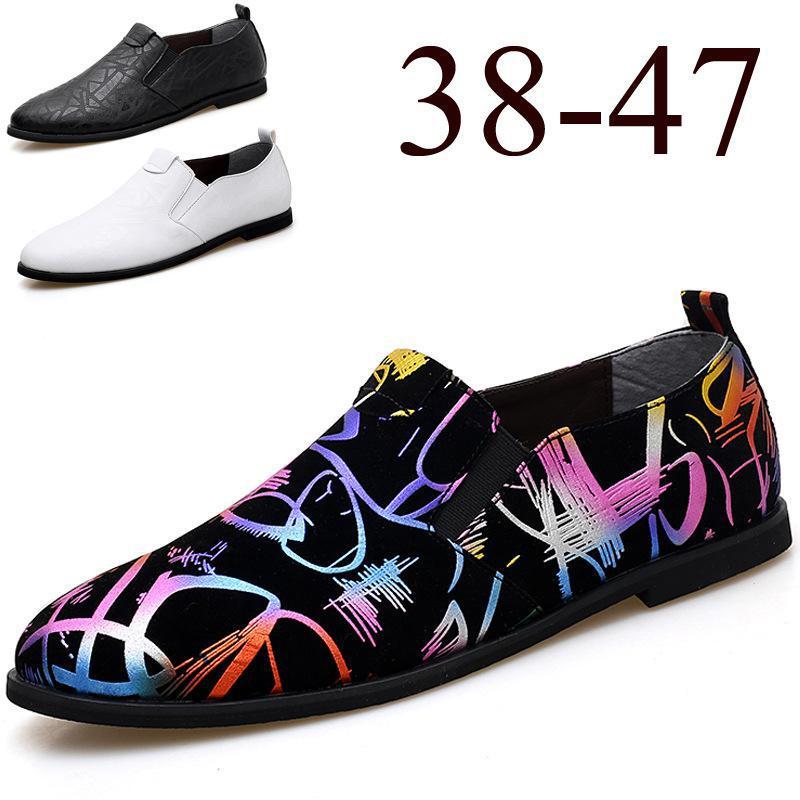 Cuero 2018 Zapatos Hombres Marca Italianos Oxfords De Para Pisos Negro Los  Conducción Lujo Casual Mocasines ... 297ee582657