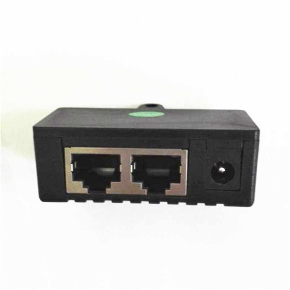 Venda quente toda venda a granel preto 10 pçs/lote Injetor POE Power over Ethernet Adapter Para A Câmera IP, telefone IP, CCTV AP