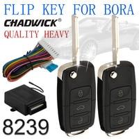 New hot CHADWICK 8239 flip key keyless entry system for Bora vw Volkswagen remote control central door lock locking high quality