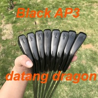 2019 datang dragon golf irons Black AP3 irons forged set ( 3 4 5 6 7 8 9 P ) with dynamic gold S300 steel shaft 718 golf clubs