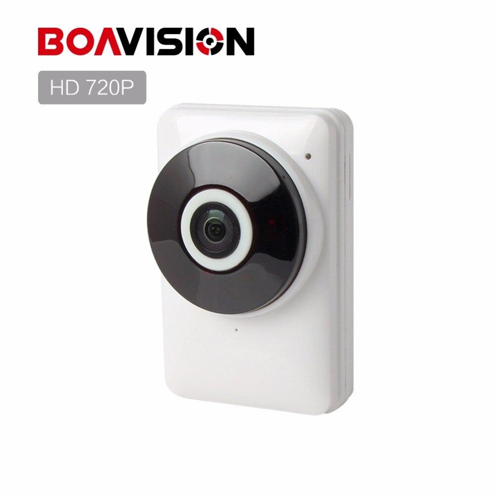 imágenes para HD 720 P Wifi Cámara IP Panorámica de 180 Grados de Visión Nocturna visión Mini Wireless Baby Monitor CÁMARA 1.0MP CCTV Inteligente de Cámaras de Seguridad P2P