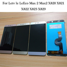 100% testado trabalhando para letv le max leeco max 2 max2 x820 x821 x822 x829 x823 display lcd tela de toque do painel digitador assembléia