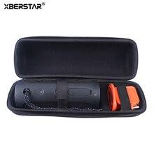 Xberstar молнии чехол для JBL FLIP 4 bluetooth Динамик and Зарядное устройство Портативный Путешествия Carry Жесткий Чехол для хранения