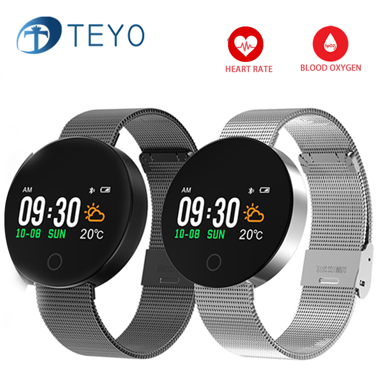 Teamyo Smart watches blood pressure heart rate monitor cardiaco pedometer fitness watch smartwatch fitness smart bracelet ip68