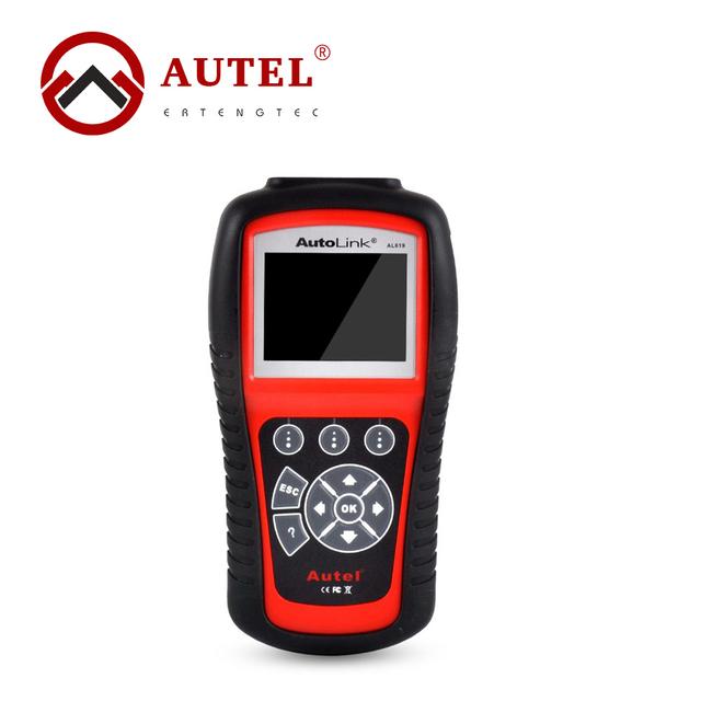 Autolink AL619 ABS SRS + CAN OBDII Herramienta de Análisis de Diagnóstico Herramienta de Análisis de Diagnóstico Lector de Código Auto Escáner Automotriz Escaner