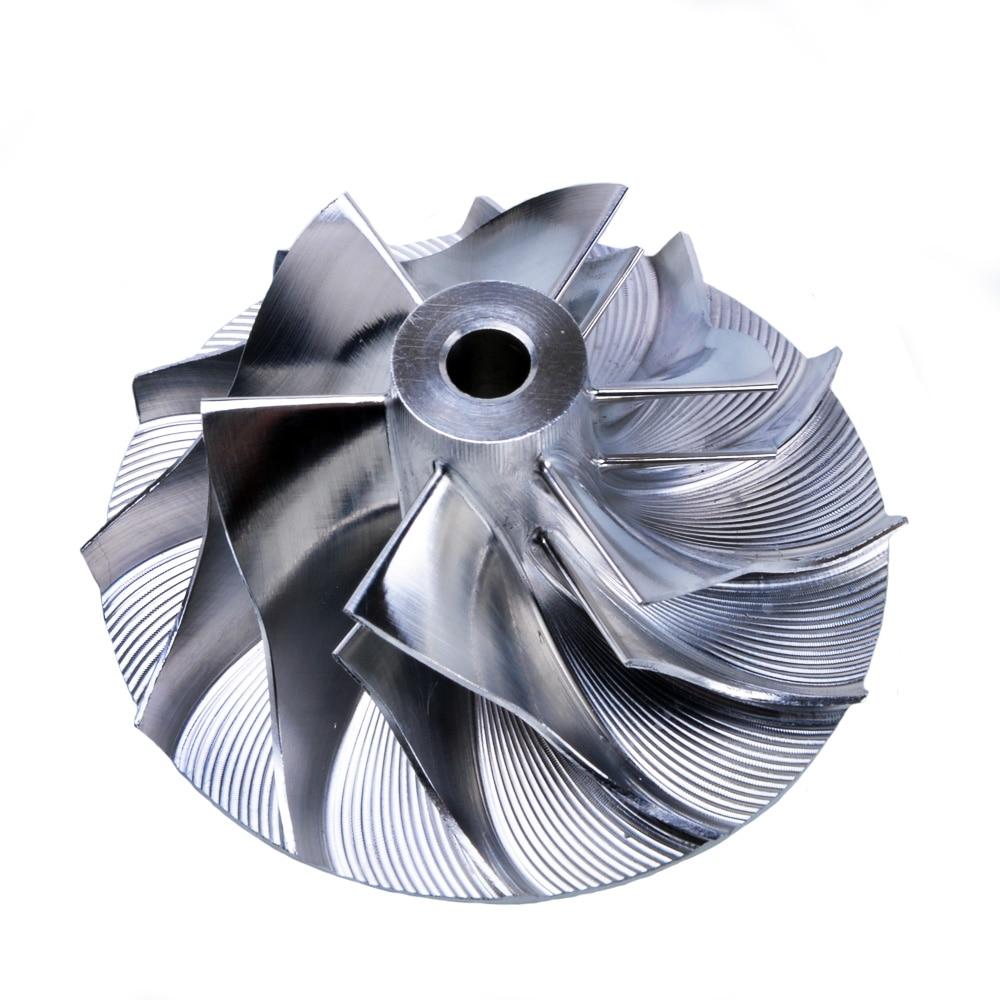Kinugawa Turbo Billet compresseur roue 34.62/49mm 6 + 6 w/pointe d'extension pour Garrett GT1749V 702489-9