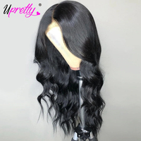 Body Wave Wig Lace Front Human Hair Wigs 4X4 Lace Closure Wig Pre Plucked With Baby Hair Remy Brazilian Front Lace Wig Upretty