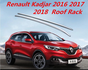 Aluminum alloy & Plastic ABS Car Roof Rack baggage luggage bar For Renault Kadjar 2016 2017 2018 FAST BY EMS|Roof Racks & Boxes| |  -